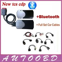automotive black light - Newly Black R2 TCS CDP PRO PLUS Bluetooth led light and keygen activator car cables For Auto OBD Cars Trucks Generic DHL FreeShipping