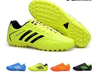 Wholesale High quality TF Men soccer boots Outdoor Lawn soccer Cleats Soccer Shoes Football Shoes soccer cleats football boots