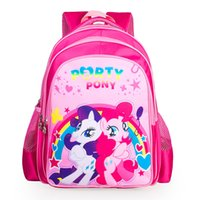 Wholesale Cartoon Pony Kids Bags Children Backpack Boy Schoolbag Children Quality School Student Backpack For Girls D Printing CH1504