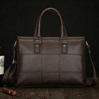 Wholesale Fashion Leather Men S Briefcase Business Laptop Handbag Shoulder Messenger Bag