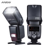 wholesale nikon - Andoer AD Universal Flash Speedlite On camera Flash GN50 w Adjustable LED Fill Light for Canon Nikon Olympus Pentax DSLR Cameras