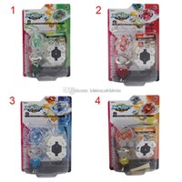 Wholesale Toy Battle Beyblade Spinning Top Plate Gyroscope Beyblades with Wire Launcher Classic Outdoor fun Sport Toys Best Gift for boy