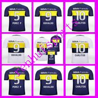argentina league - Boca Jerseys Juniors Shirt camisas de futebol Riquelme Gago Gigliotti Argentina league rugby Away Home Jersey