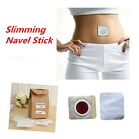 Wholesale 30pcs Slim Patch Slimming Navel Stick Magnetic Slim Patches Sharpe Weight Loss Burning Fat Patch Retail Package