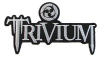 band trivium - TRIVIUM Music Band EMBROIDERED IRON On Patch T shirt Transfer goth APPLIQUE Heavy Metal Rock Punk Badge