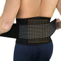 Wholesale 2PCS New lumbar support waist back brace posture correction for fitness Weightlifting belts corrector espalda sport healt care