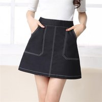 Cheap White Denim Mini Skirt | Free Shipping White Denim Mini ...