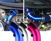 Wholesale Universal Air Intake Pipe Short Type L x D Short Type Blue Red Silver universal fitment have stock ready to ship