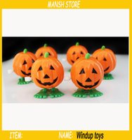 Wholesale 2016 New Creative Hollow Pumpkin Windup Toys Chain Clockwork funny Pumpkin toys