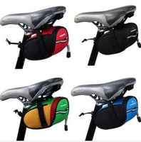 Wholesale New Arrival Roswheel Outdoor Cycling Mountain Bike Bicycle Saddle Bag Back Seat Tail Pouch Package Black Green Blue Red