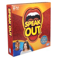 Wholesale FUN Speak Out Game Cards KTV party newest Christmas Toy