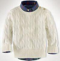 El muchacho 2016 del invierno arropa el tamaño caliente S-XXL de los suéteres del muchacho de la alta calidad de la venta del estilo de la manera