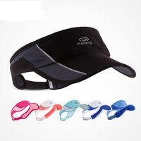 Wholesale Running Visor fashion Sun Hats Dry Fit Sports Cap Casual Cap Sunvisor HOHO