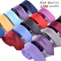 bulk yarn - High quality cm silk slim ties for men royal blue bulk neckties gravatas de seda adult man neckwear lote