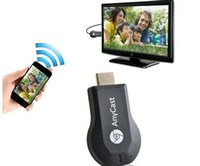 Wholesale Newest AnyCast TV Stick Miracast Airplay DLNA Dongle Smart Wifi Display for iOS Andriod Better than Ezcast Chromecast With Retail Package