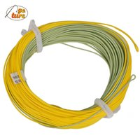 Wholesale GOTURE New Real Gold Weight Forward Floating Fly Fishing Line With Exposed Loop FT WT Fly Line