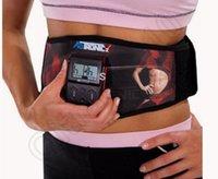 1 LOT HHA800 Dual Channel Minceur Ceinture Vibrante Fitness Massager stimulation musculaire Minceur ceinture de tonification