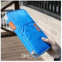 Wholesale Organizer New Fashion Wenzi Travel Clutch Storage bag Stationery bag holder Case Cosmetic Bag Clutch Bag RJ1483 dd