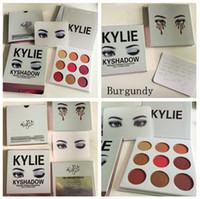 Wholesale Christmas In Stock Kylie Jenner Burgundy Eyeshadow palette Kylie Jenner Cosmetics The Burgundy Eyeshadow Palette Preorder Kyshadow
