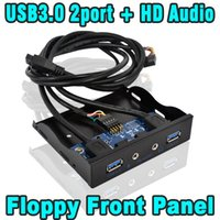 audio multi output - T Multi quot Ports USB Hub with HD Audio Output Microphone interface Internal Floppy Front Panel Bracket USB3