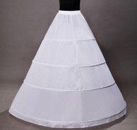 Wholesale Cheap White Good Quality Petticoat In Stock White Tull Stacked Petticoat Crinoline For Wedding Dress