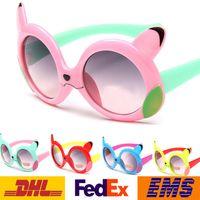 Wholesale 2016 Fashion Poke Pikachu Children Boys Girls Sunglasses Kids Beach Outdoor Travel UV Protective Eyewear Sunblock Sunglasses WX G05