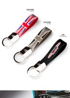 Wholesale Brand New Metal and Rubber Material Car Key chain For F56 F55 F54 R55 R56 R57 R58 R59 R60 R61 mini cooper key chain Set