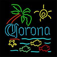 Wholesale Beer Brand Glass LED Neon Sign DIY Flex Rope Light Indoor Outdoor Decoration for Corona RGB Voltage V V