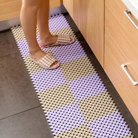 bathroom puzzles - New Removable DIY Splice Bath Mat Non slip shower mat for Stitching Anti Slip Puzzle Pad bathroom accessories