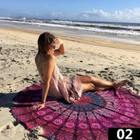 Wholesale Outdoor Pads Mat Beach Towel Shawl Beach Cover Up Family Mats Diameter Size cm inch