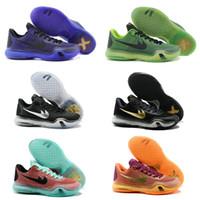 Wholesale Hot Sale Cheap Famous Bryant X Low Mens Boys Kids Sports Basketball Shoes KOBE Sneakers Size