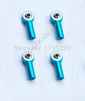 ball rod ends - 8pcs Blue Aluminum M3 Link Rod End Ball Joint for RC Car Crawler joint closure
