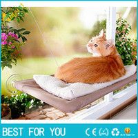 Wholesale New fashion Hot selling New Window Mount Cat Bed Pet Hammock Sunny Seat Pet Beds With Color Box Package