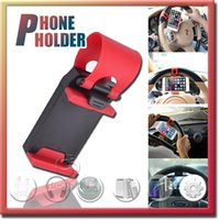 air free mobile - Universal Car Streeling Wheel Cradle Holder Universal Car Air Vent Mount Holderfor for Mobile Cell Phone GPS