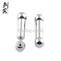 Cheap (Min. order $10) Free Shippping Body Piercing Jewelry Heavy Gauge Steel Internally threaded Barbell Tongue Bar