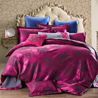 Wholesale hot D bedding set king size bed linen include duvet cover bed sheet pillow cases reactive printing