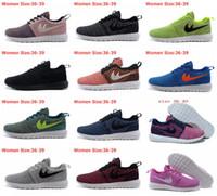 Cheap 2016 New Designer fashion Roshe run Flyknit Running shoes sneaker,Mens Womens London Olympic Rosherun knit Running sporting walking shoes