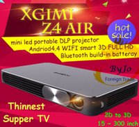 batteries theater - 2016 XGIMI Z4 Air3D LED Intelligent Home Theater HD p Pico Projector Build in battery WIFI Android Bluetooth