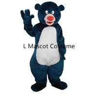 bear africa - North Africa Baloo bear mascot costume take adult size