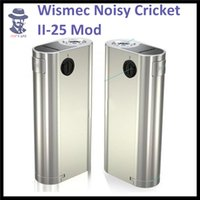 battery in parallel - 100 Authentic Wismec Noisy Cricket II MOD W O Battery Noisy Cricket Optional Circuit in Series and Parallel
