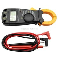 Wholesale AC DC Voltage LCD Digital Clamp Multimeter Electronic Buzzer Tester Meter B00236 FSDH
