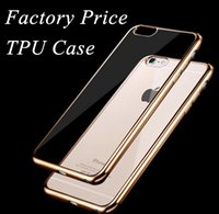 Wholesale factory price soft durable plating scrub TPU cell phone cases for iphone6