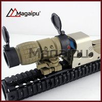 aimpoint flip mount - Tactical X Magnifier Rifle Scope Flip Side Mount Fit Aimpoint Scope Sight for Hunting
