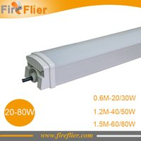Wholesale mm mm mm triproof light led w food factory lamp w w w w w led tubes fixture waterproof