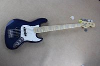 Wholesale Instrumento de música personalizada wood bass guitarra cuerpo de Aliso arce diapasón cuerdas de guitarra bajo