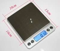 accuracy bathroom scales - 500g g Portable Kitchen Scale High Accuracy Digital Scale LED Screen Jewelry Scale English Packing