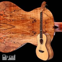 Wholesale Electric strings guitar inches High quality solid Spruce wood Tenor Ukulele Bag factory offer oem custom logo
