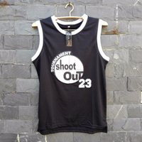 active shooting - TIM VAN STEENBERGEB Shoot Out Basketball Jersey Number Color Black Basketball Jersey Size S XL For