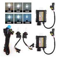 Wholesale DHL W HID Xenon Headlight Conversion KIT K K K K K K Car Led Bulbs