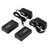 audio vga extender - 100M ft VGA Video Audio Extender Over Single RJ45 CAT5e P Extension